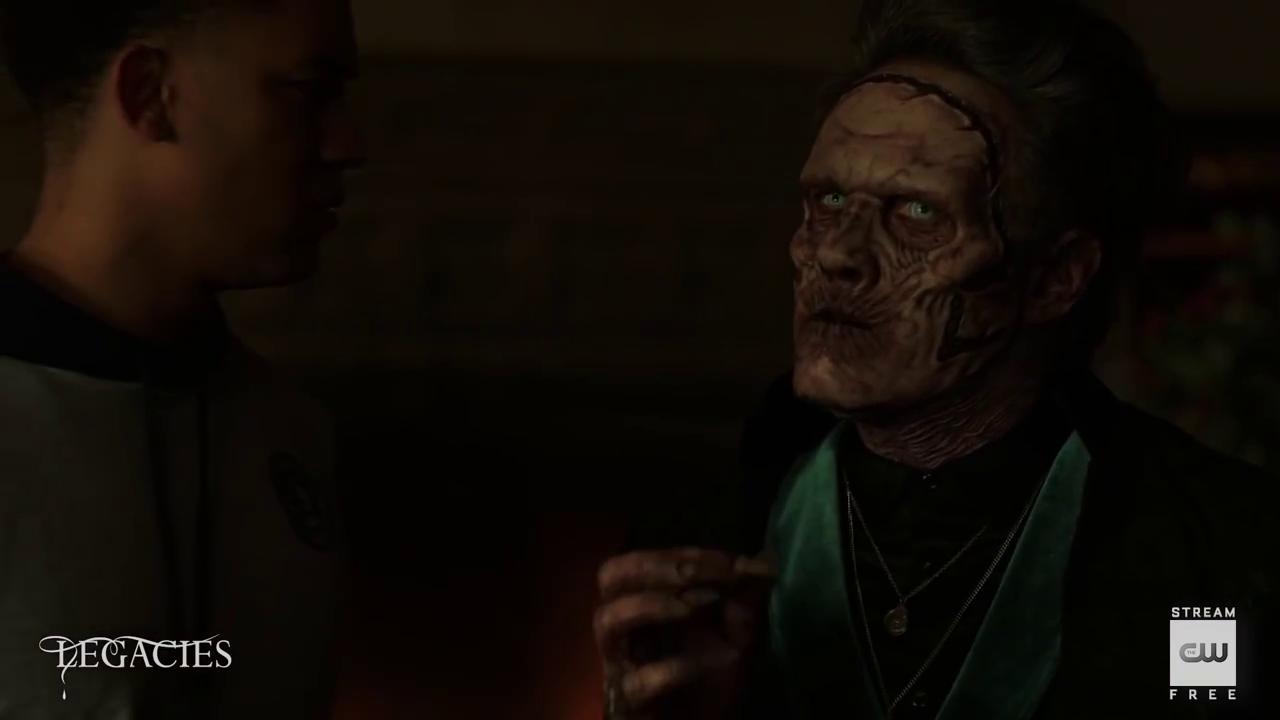 'Legacies' 3×01 We're Not Worthy – Necromancer Scene