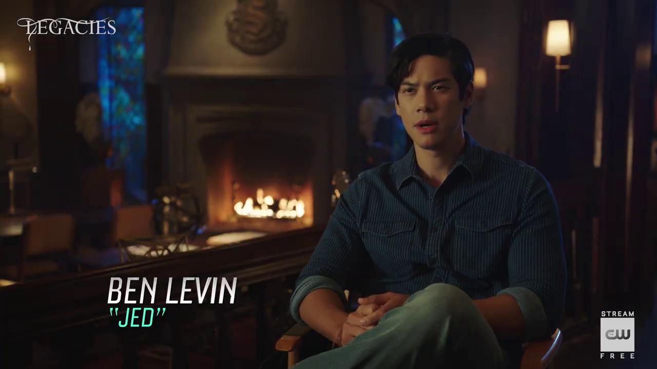 'Legacies' seizoen 3 – Ben Levin Interview
