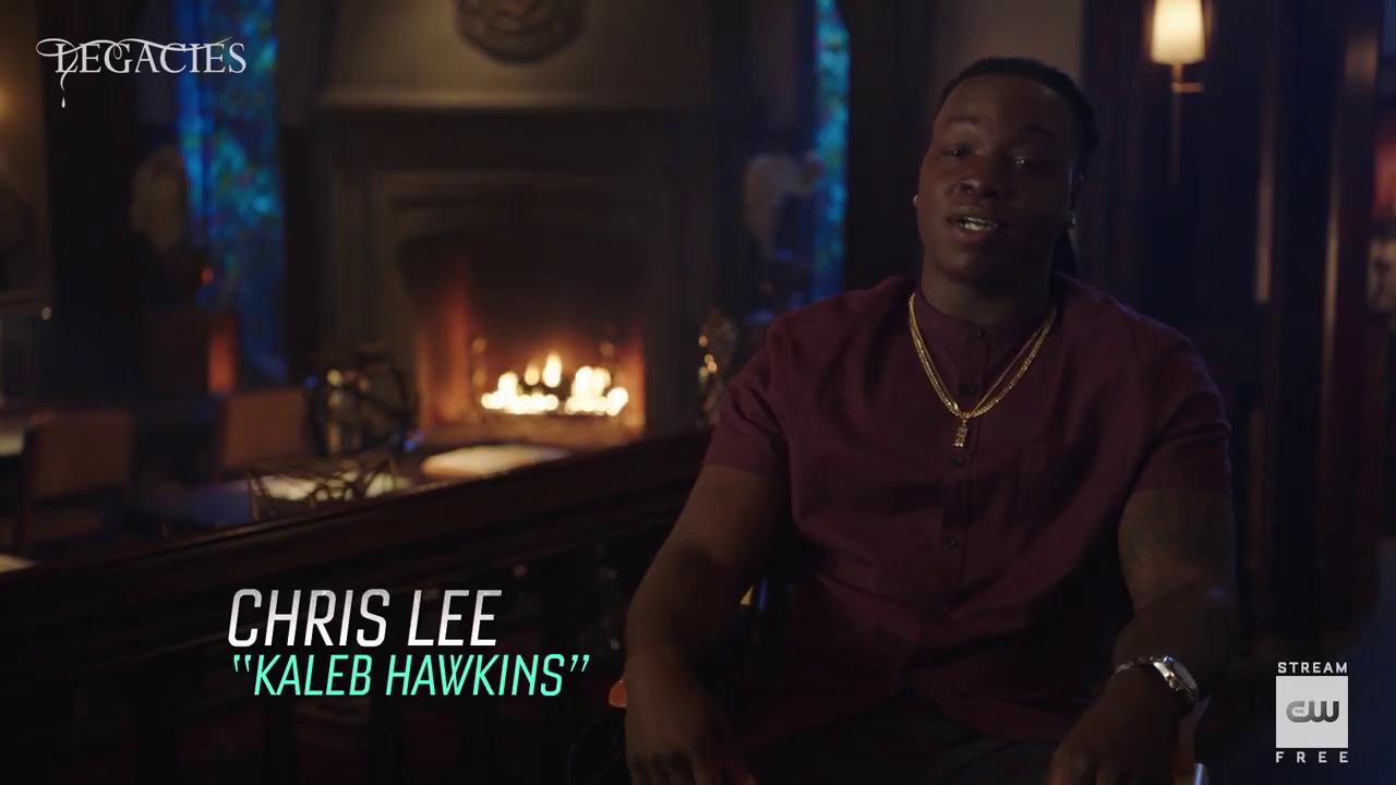 'Legacies' seizoen 3 – Chris Interview