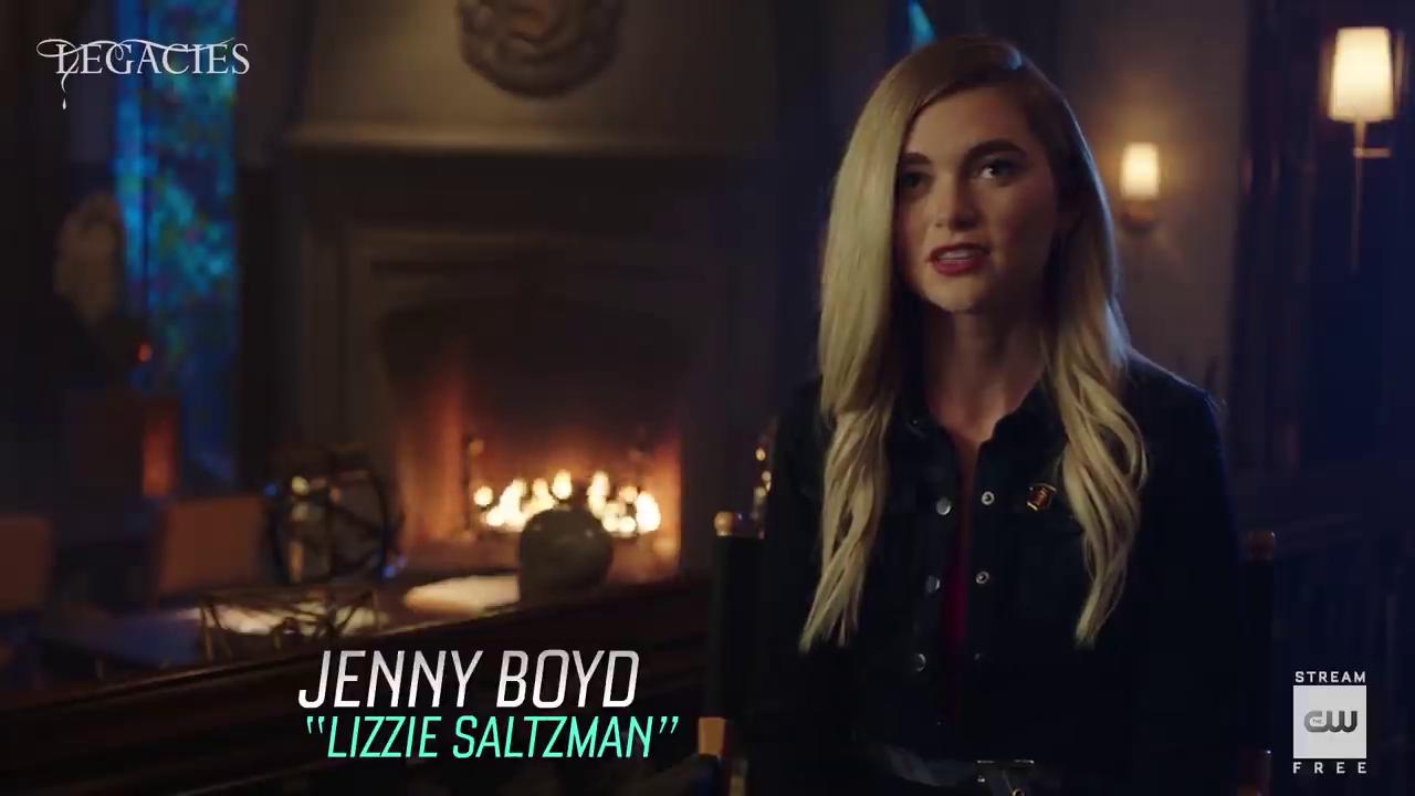 'Legacies' seizoen 3 – Jenny Boyd Interview