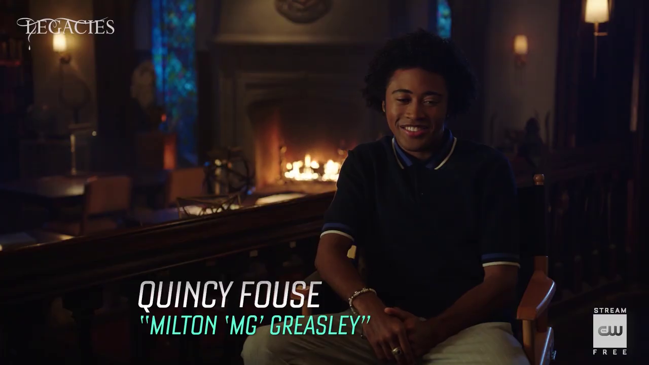 'Legacies' seizoen 3 – Quincy Fouse Interview