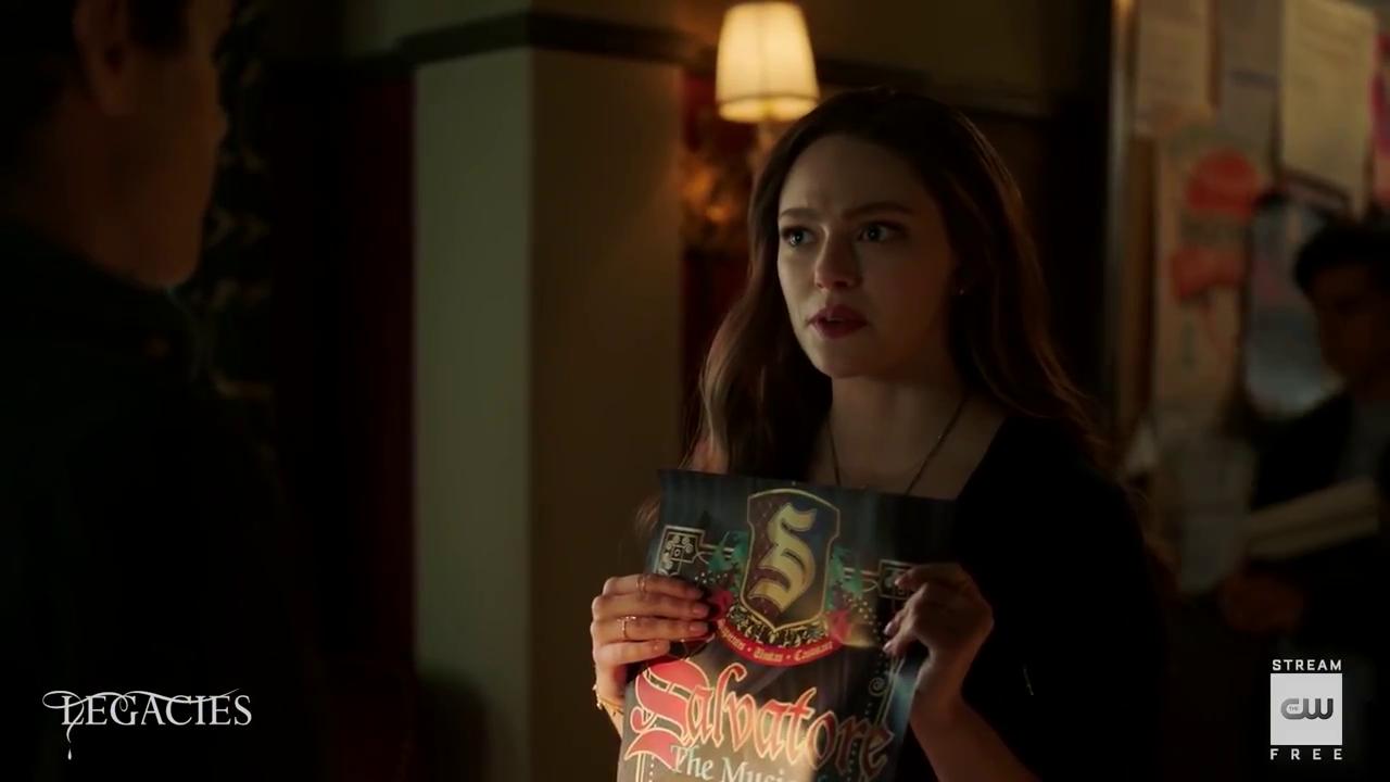 'Legacies' 3×03 Salvatore: The Musical! – Promo